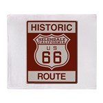 Helendale Route 66 Throw Blanket