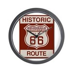 Helendale Route 66 Wall Clock