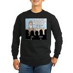 Samuel's King Quandary Long Sleeve Dark T-Shirt