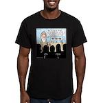Samuel's King Quandary Men's Fitted T-Shirt (dark)