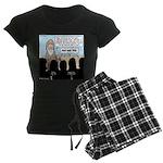 Samuel's King Quandary Women's Dark Pajamas