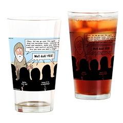 Samuel's King Quandary Drinking Glass