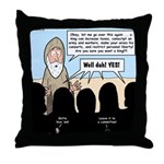 Samuel's King Quandary Throw Pillow