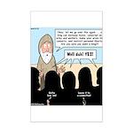 Samuel's King Quandary Mini Poster Print