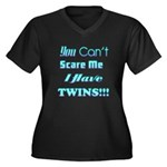 You cant scare me 4 Women's Plus Size V-Neck D