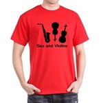 Sax and Violins Dark T-Shirt