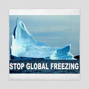 GLOBAL FREEZING Queen Duvet