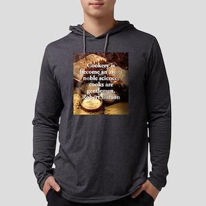 Cookery Is Become An Art - Robert Burton Mens Hood