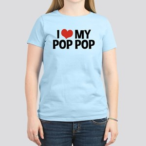 I Love My Pop Pop Women's Light T-Shirt