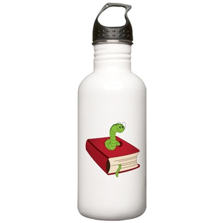 Bookworm Stainless Water Bottle 1.0L