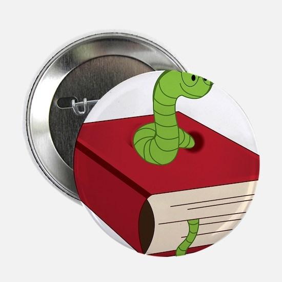 "Bookworm 2.25"" Button"
