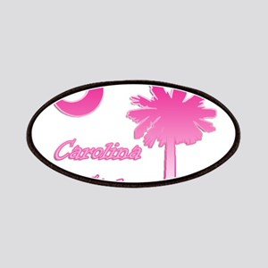 Pink and White Carolina Girl 2 Patches