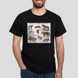 Wildcats of North America Dark T-Shirt