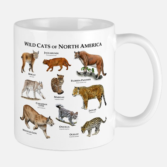 Wildcats of North America Mug