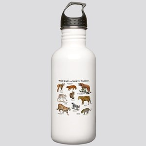 Wildcats of North America Stainless Water Bottle 1