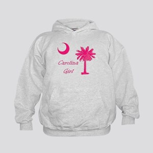 Hot Pink Carolina Girl Kids Hoodie