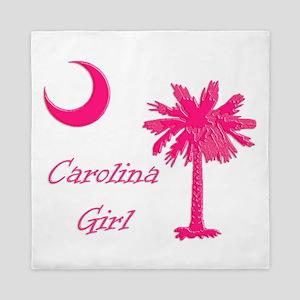 Hot Pink Carolina Girl Queen Duvet