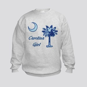 Light Blue Carolina Girl Kids Sweatshirt