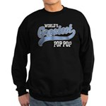World's Greatest Pop Pop Sweatshirt (dark)