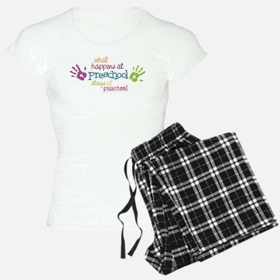 Stays At Preschool Pajamas