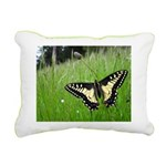Anise Swallowtail Butterfly Rectangular Canvas Pil