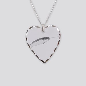 Narwhal whale bbg Necklace Heart Charm