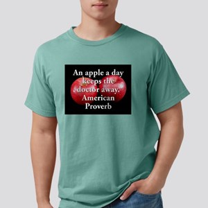 An Apple A Day - American Proverb Mens Comfort Col