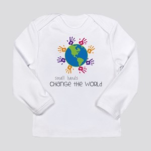 Small Hands Long Sleeve Infant T-Shirt
