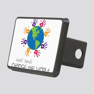 Small Hands Rectangular Hitch Cover