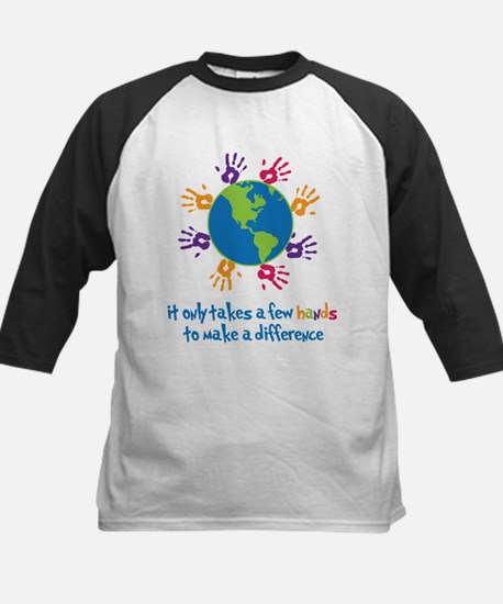 Make A Difference Kids Baseball Jersey