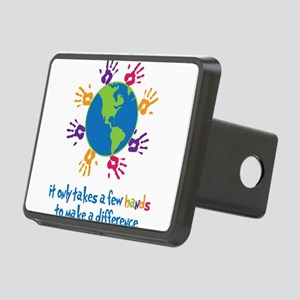 Make A Difference Rectangular Hitch Cover