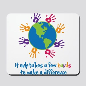 Make A Difference Mousepad