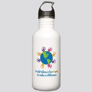 Make A Difference Stainless Water Bottle 1.0L
