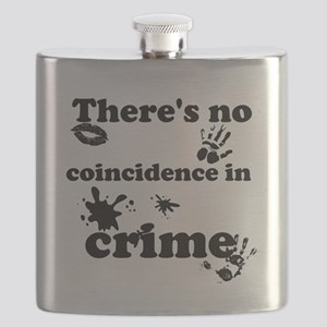 No Coincidence in Crime Flask