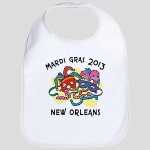 Mardi Gras 2013 Bib
