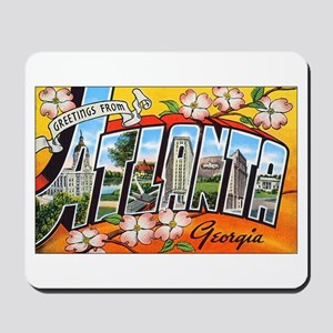 Atlanta Georgia Greetings Mousepad