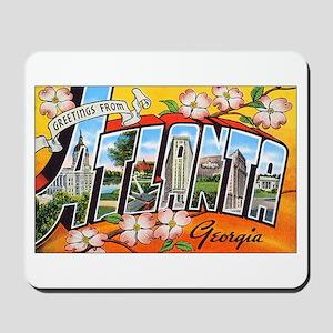 Atlanta Georgia Greetings Mousepad