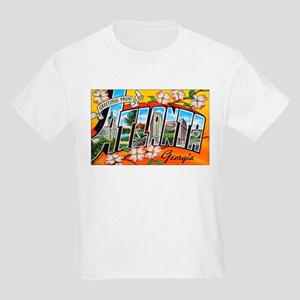 Atlanta Georgia Greetings (Front) Kids T-Shirt