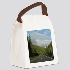 Wish You Were Here Canvas Lunch Bag