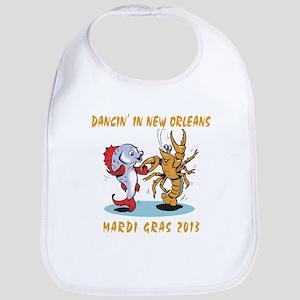 Funny Mardi Gras 2013 Bib