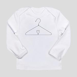 Heart Hanger Long Sleeve Infant T-Shirt