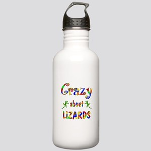 Crazy About Lizards Stainless Water Bottle 1.0L