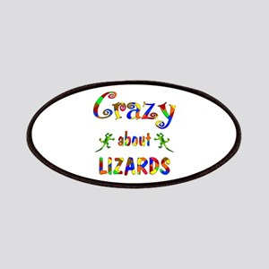 Crazy About Lizards Patches