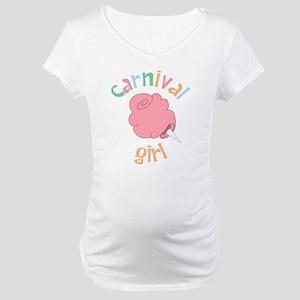 Carnival Girl Maternity T-Shirt
