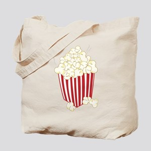 Bucket Of Popcorn Tote Bag