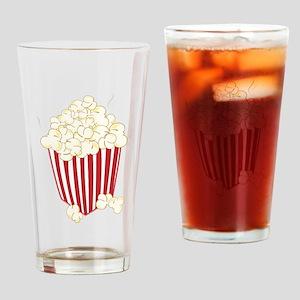 Bucket Of Popcorn Drinking Glass