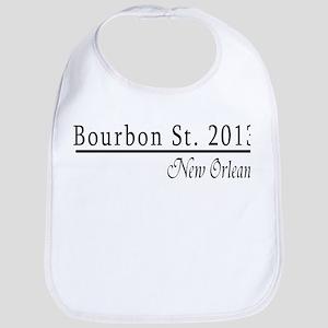 Mardi Gras 2012 Bourbon Street Bib