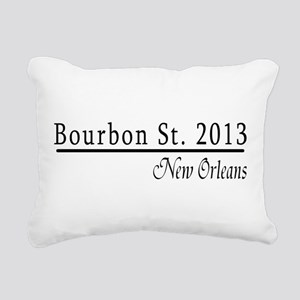 Mardi Gras 2012 Bourbon Street Rectangular Canvas