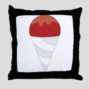 Snowcone Throw Pillow
