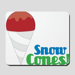 Snow Cones Mousepad